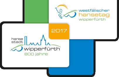 800 Jahre Stadtjubiläum Wipperfürth Logo